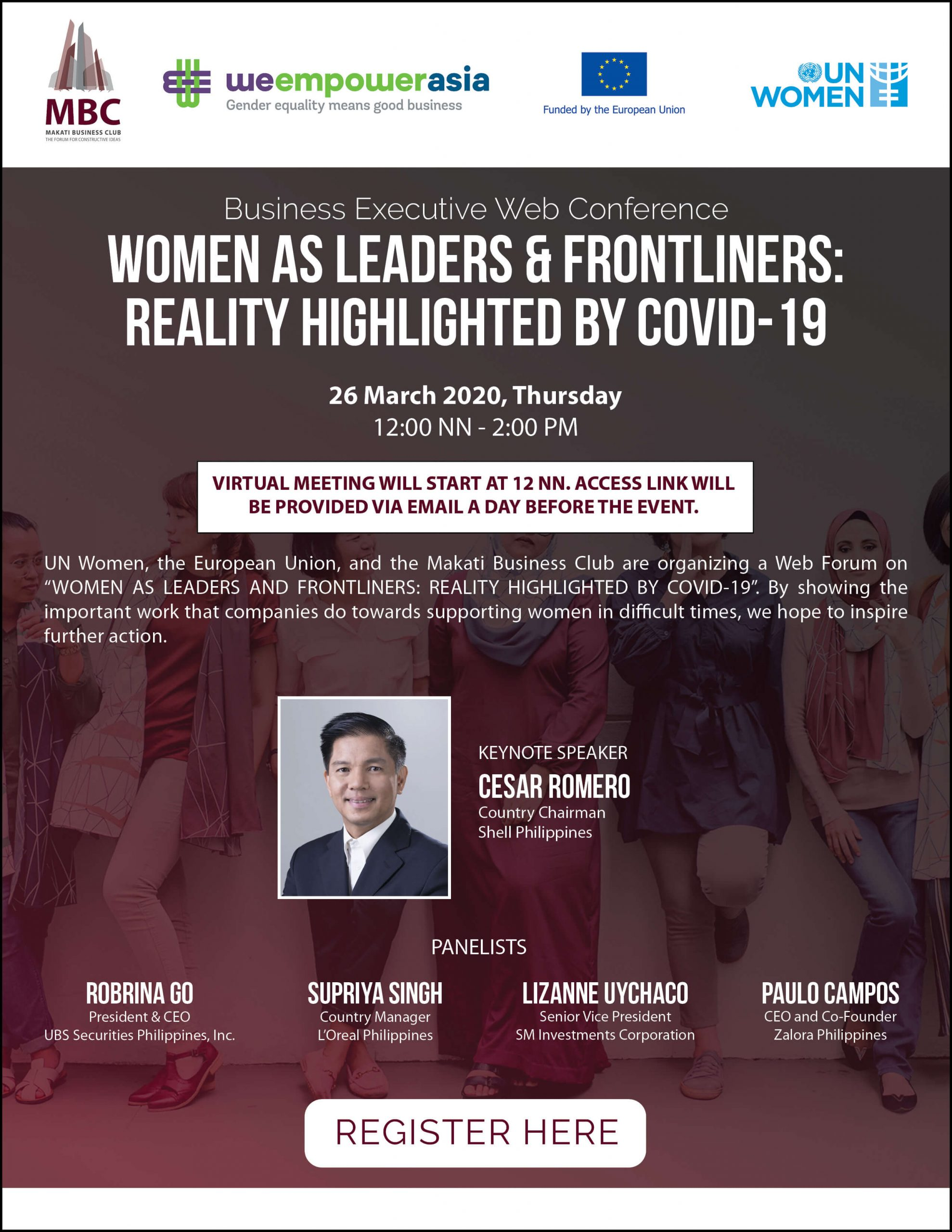 Women as Leaders & Frontliners: Reality Highlighted by COVID-19