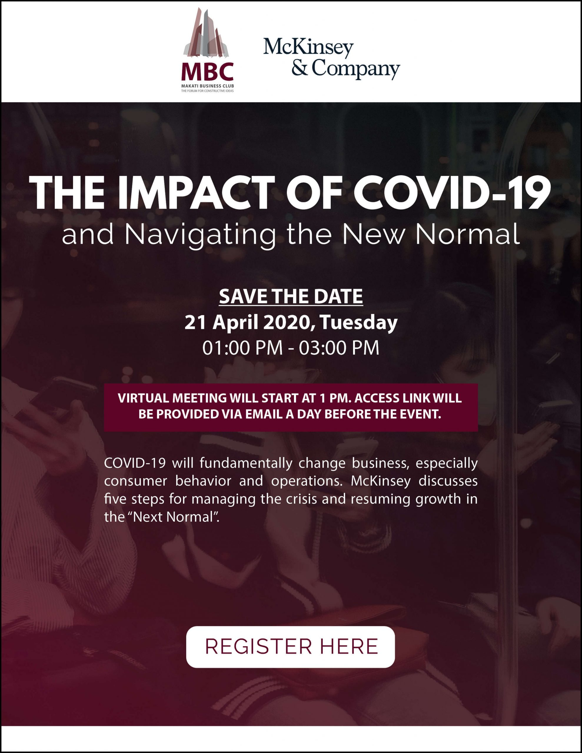 The Impact of COVID-19 and Navigating the New Normal