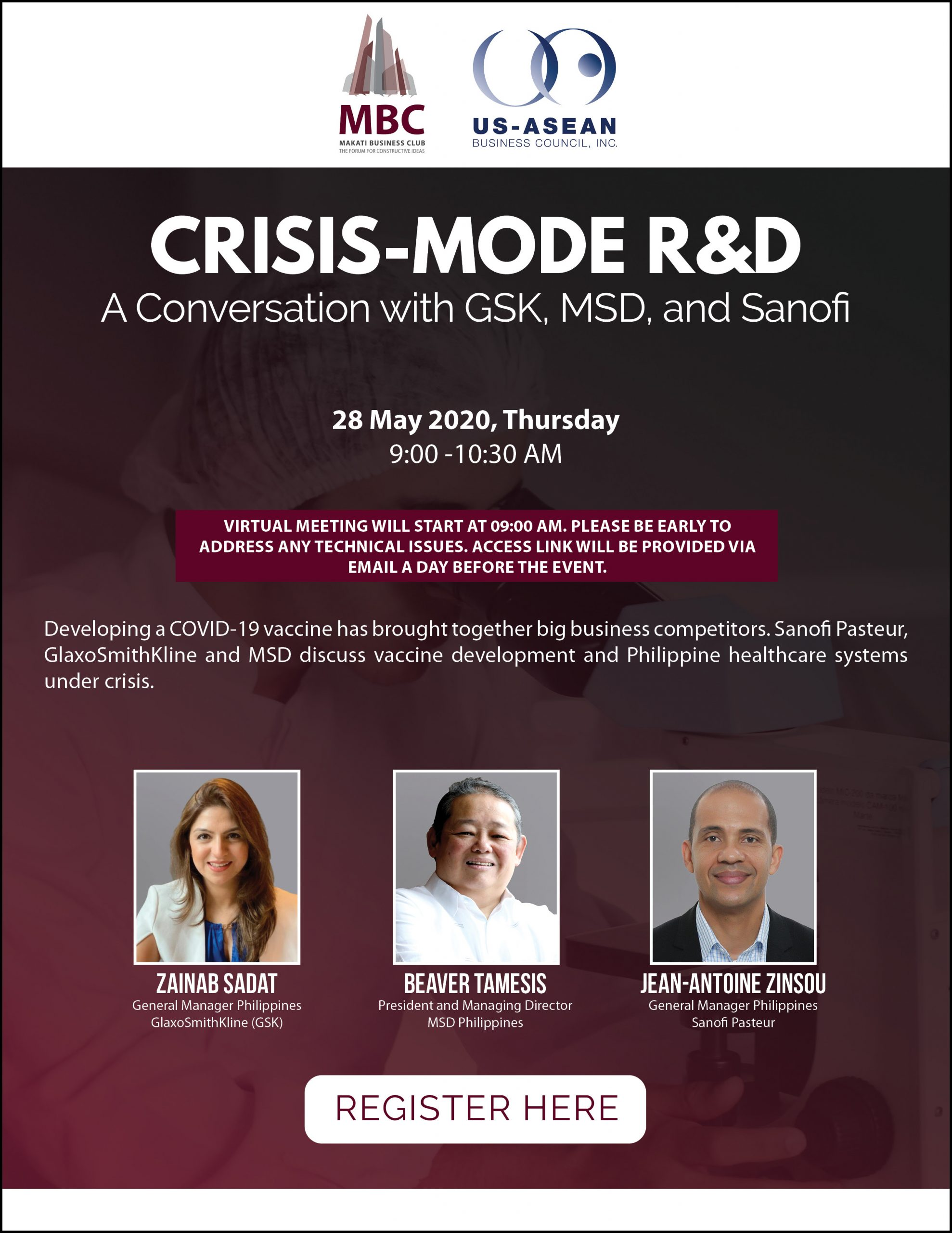 Crisis-Mode R&D: A Conversation with GSK, MSD, and Sanofi
