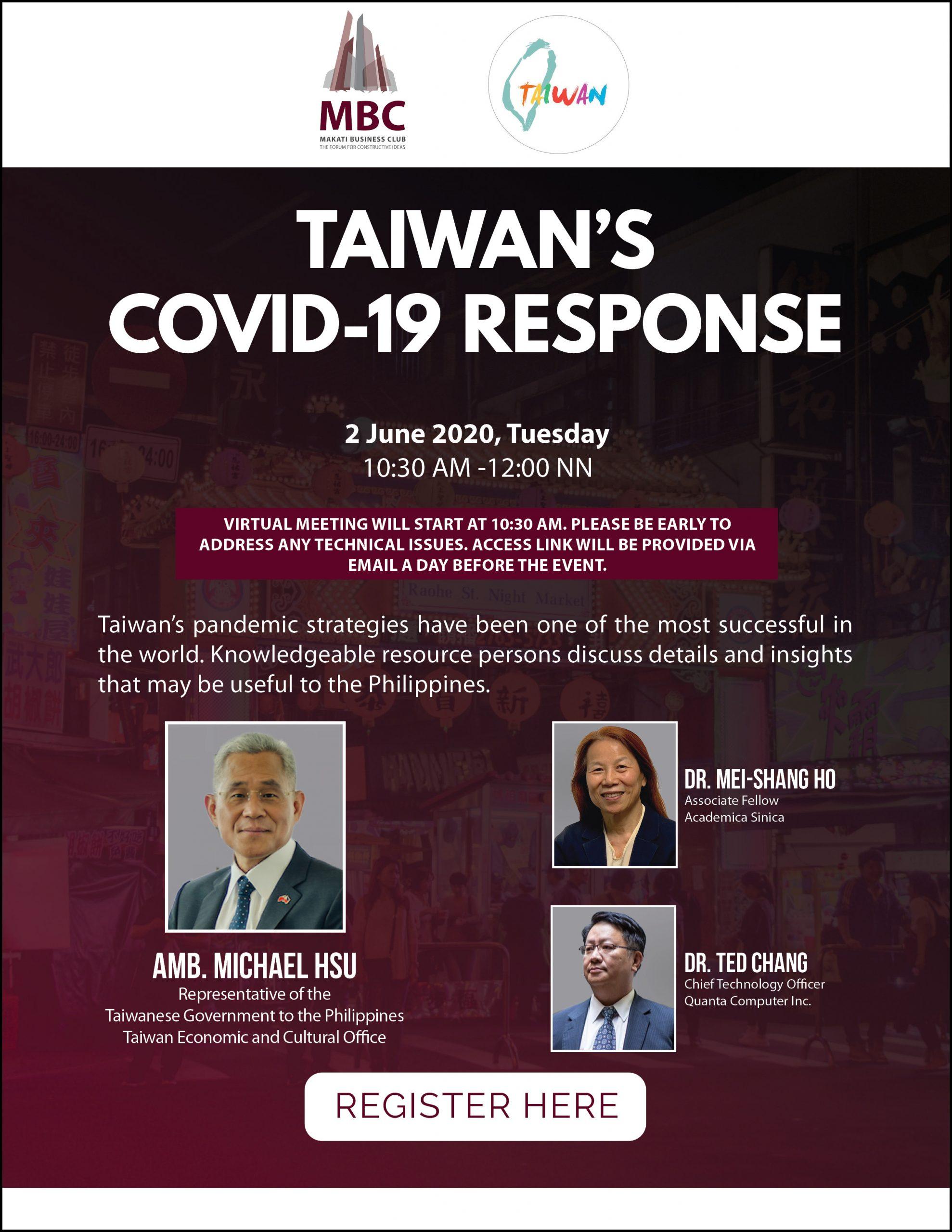 Taiwan's COVID-19 Response