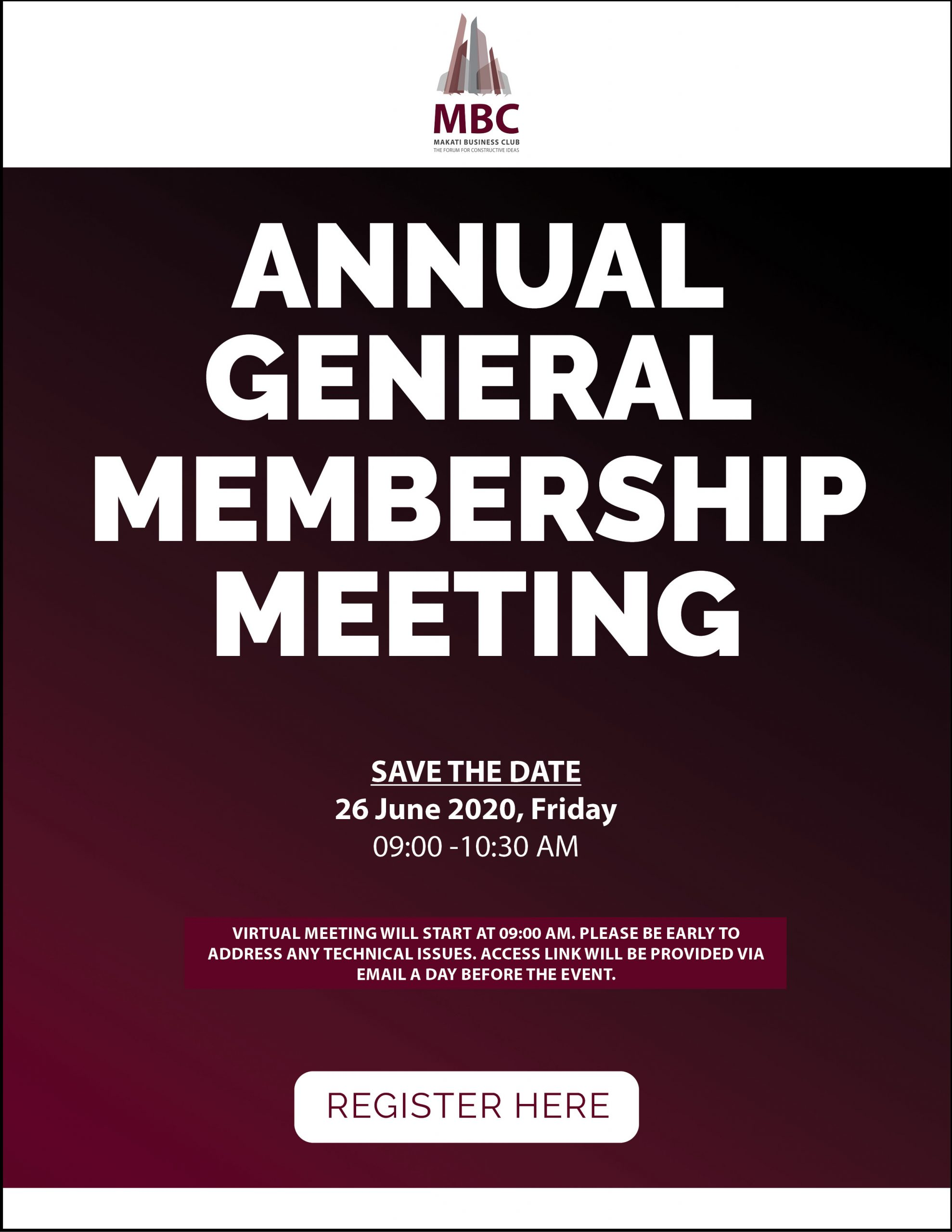 2020 Annual General Membership Meeting