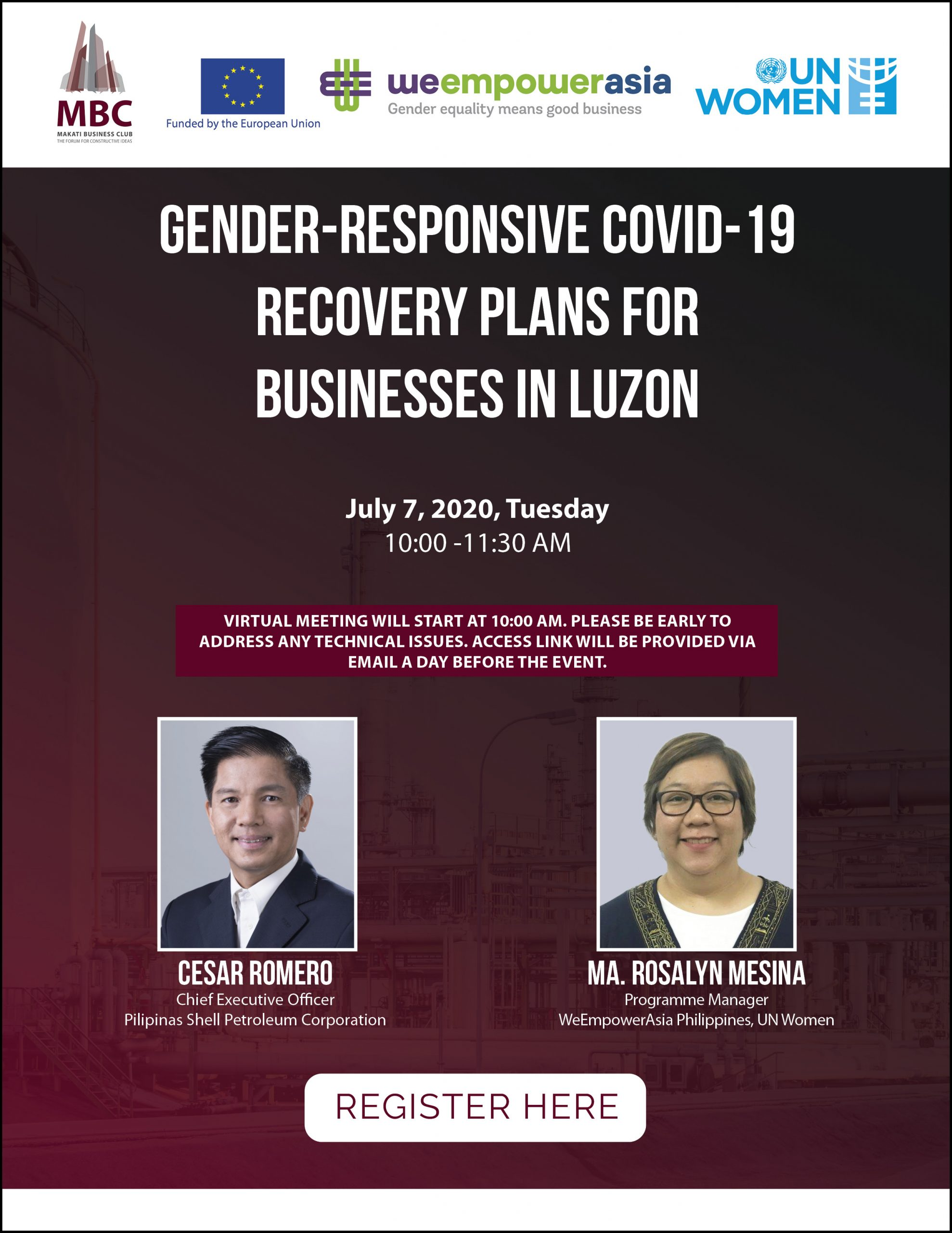 Gender-responsive COVID-19 Recovery Plans for Businesses in Luzon