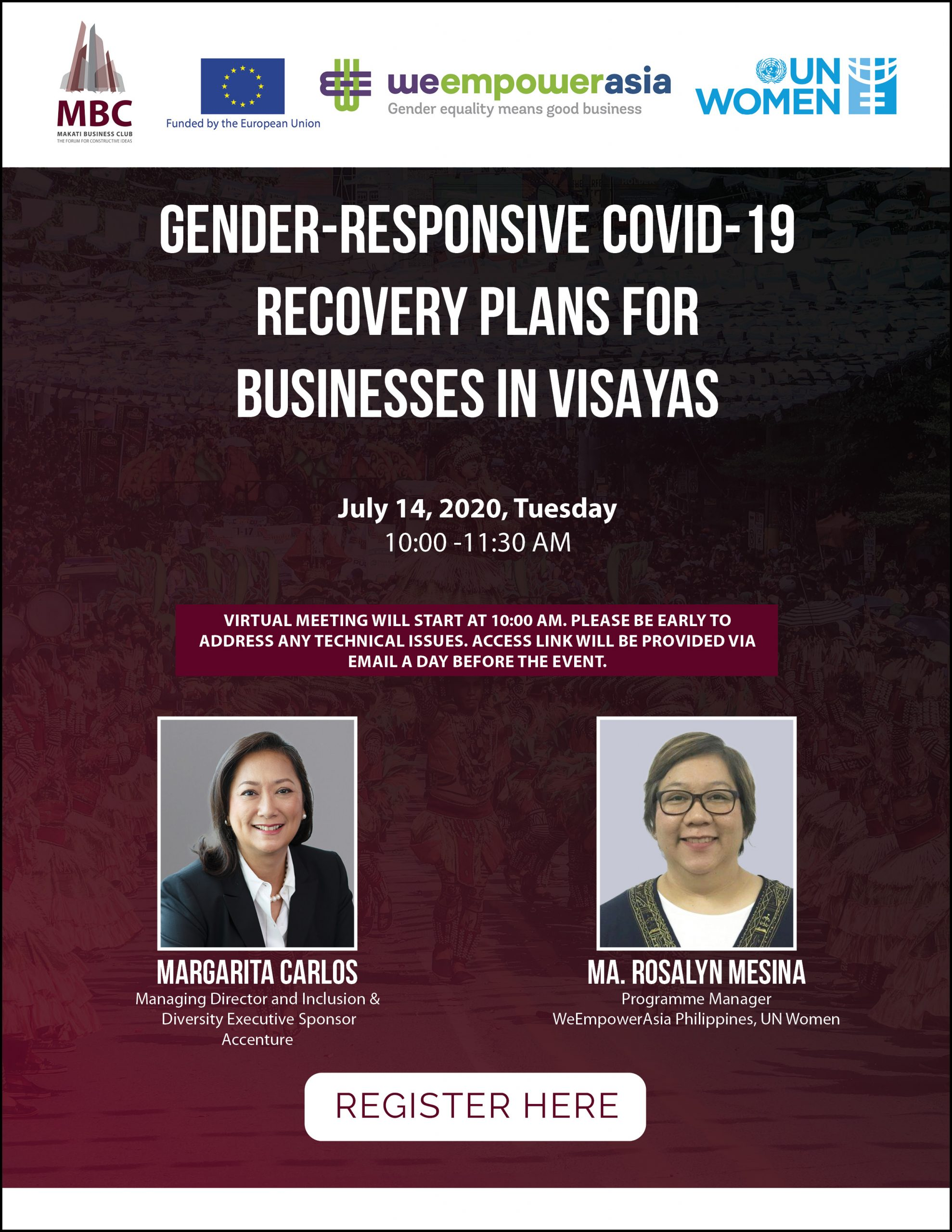 Gender-responsive COVID-19 Recovery Plans for Businesses in Visayas