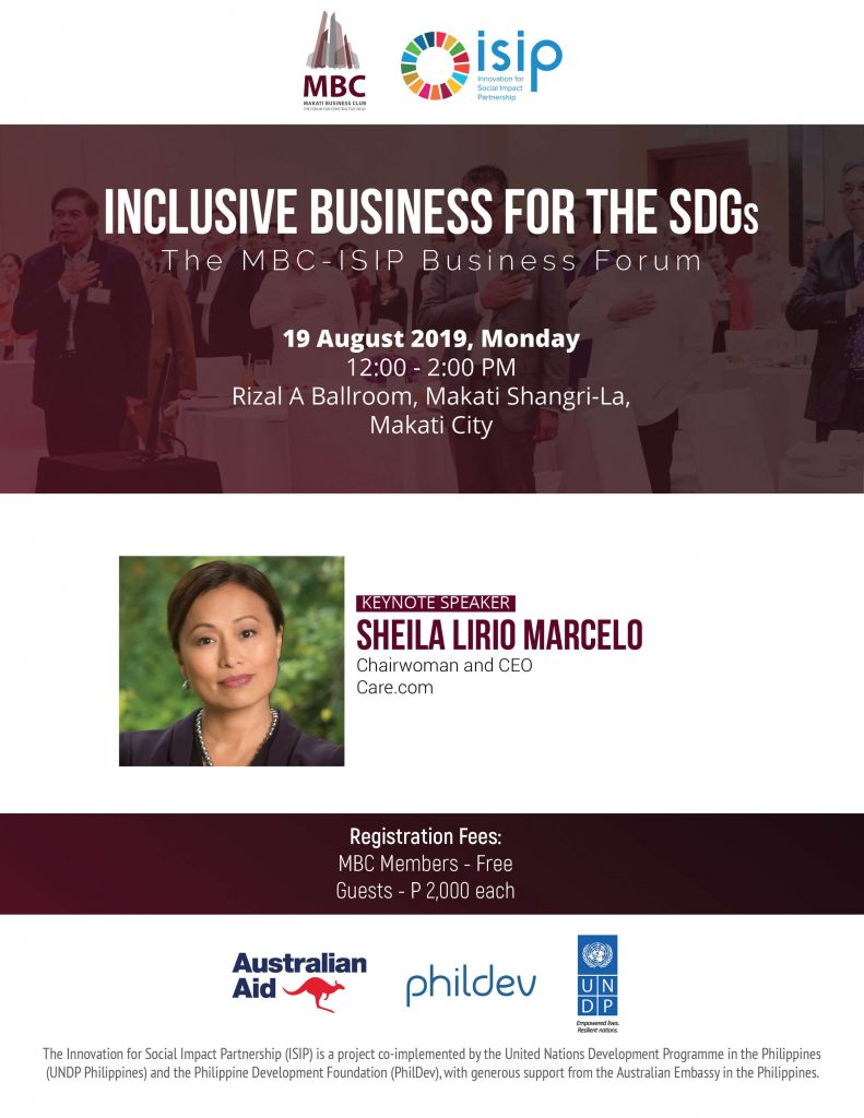 Inclusive Business for the SDGs