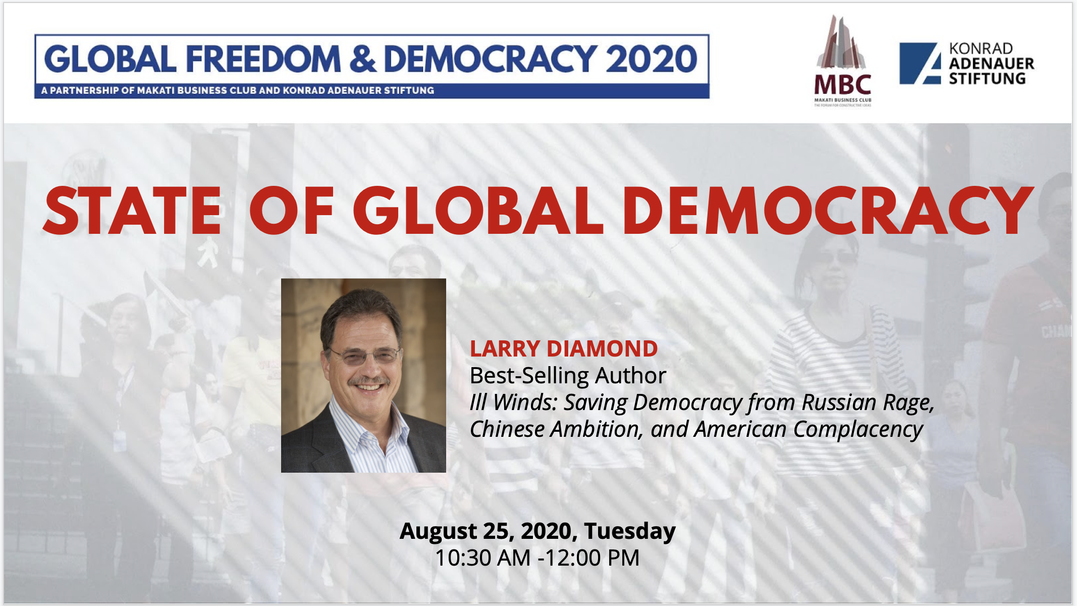 The State of Global Democracy with Larry Diamond