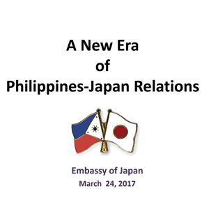 24 March 2017 MBC GMM  Presentation of Amb Ishikawa