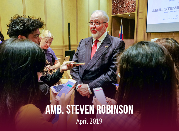 Ambassador Steven Robinson
