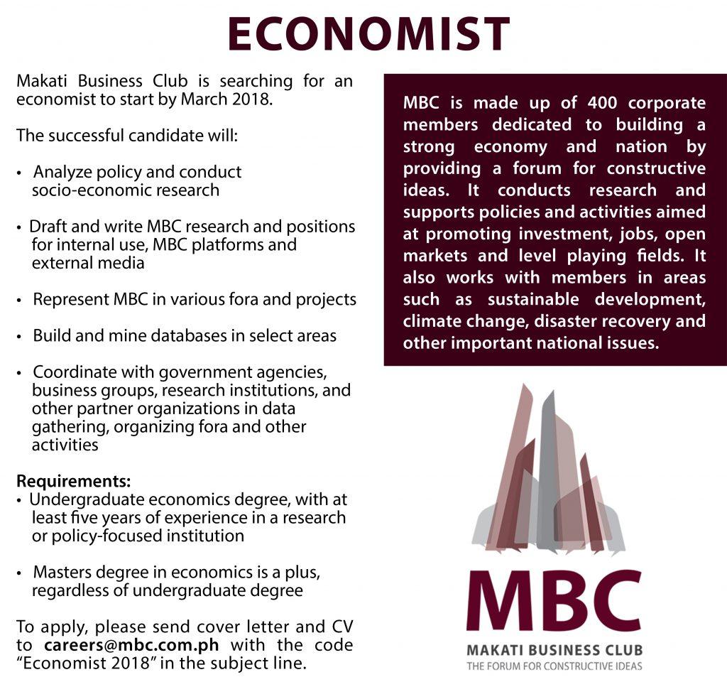 Careers Economist
