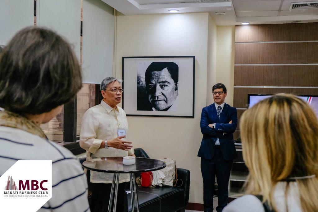 Edgar Chua and Eurico Brilhante Dias