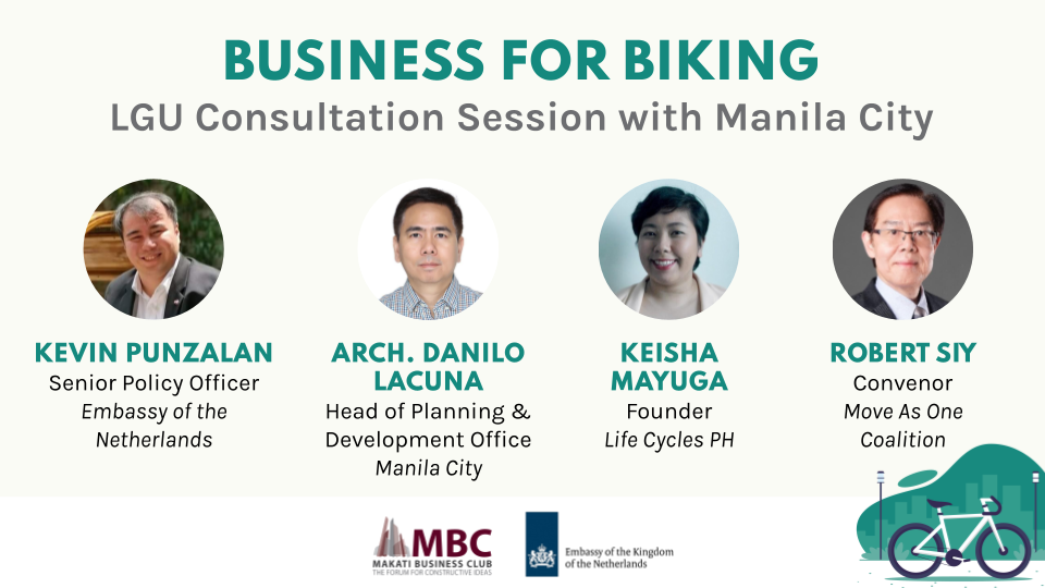 Business For Biking: LGU Consultation Session with Manila City