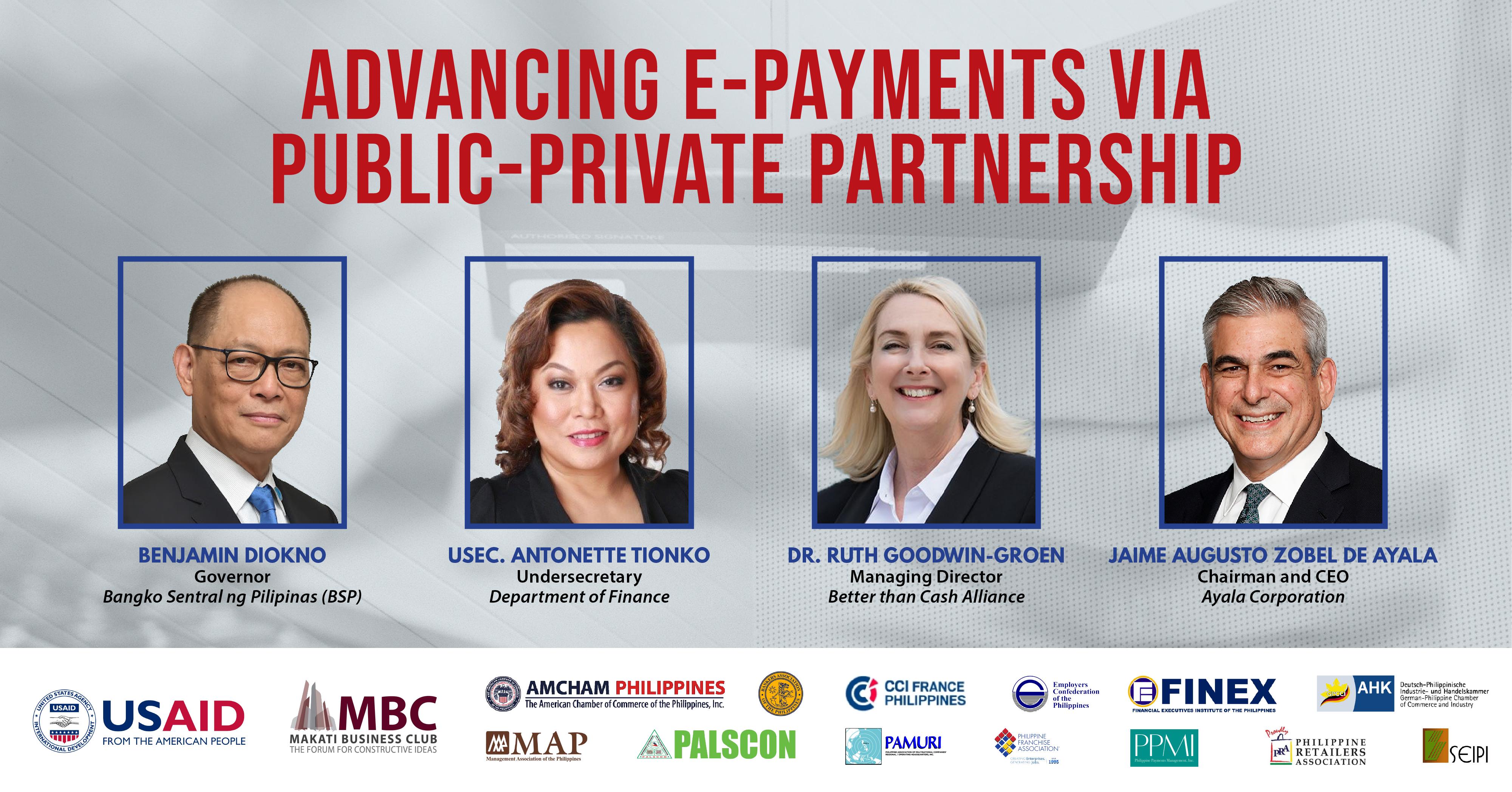 Advancing E-Payments via Public-Private Partnership
