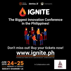IGNITE 2019-Innovating Asia: Shaping the World