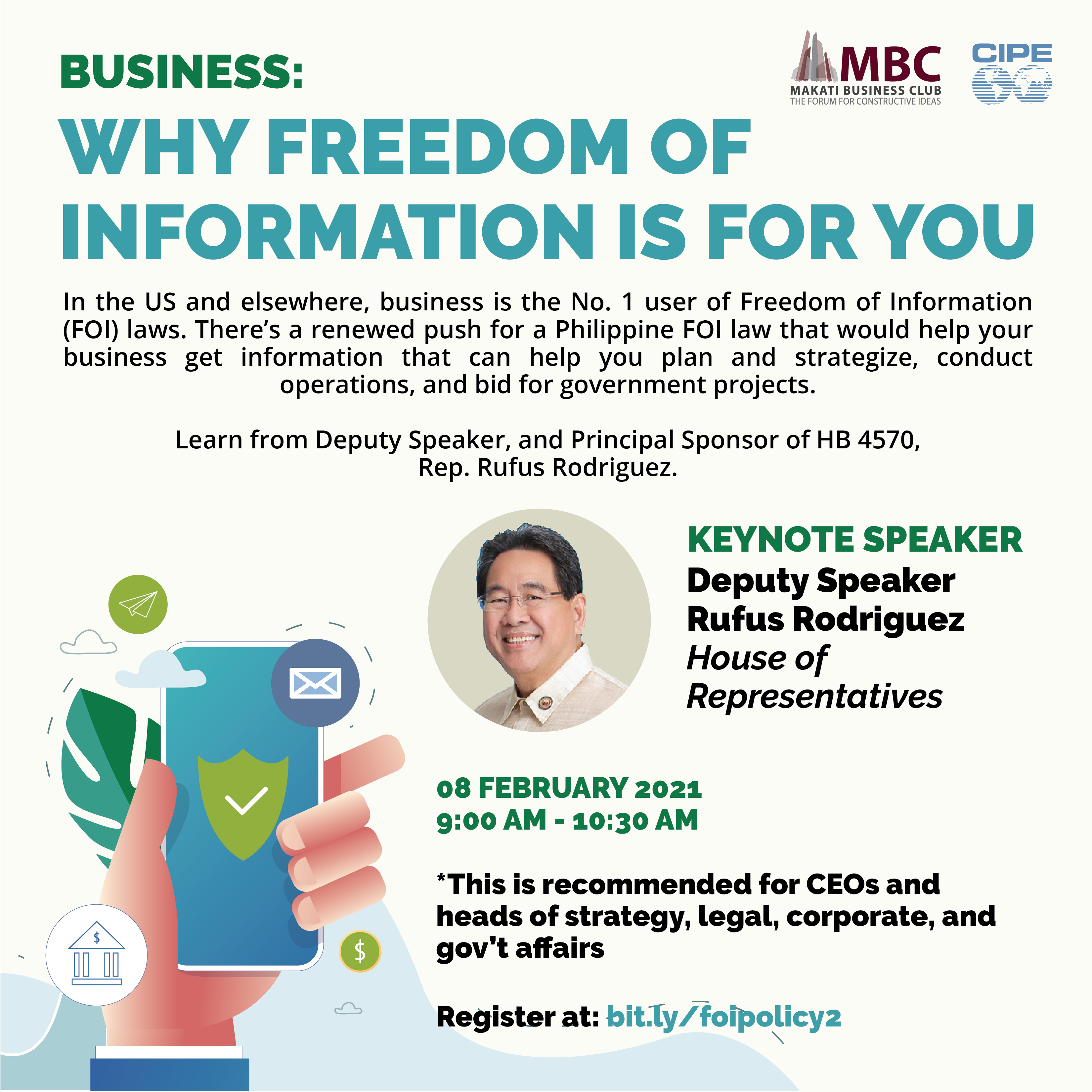 BUSINESS: WHY FREEDOM OF INFORMATION IS FOR YOU