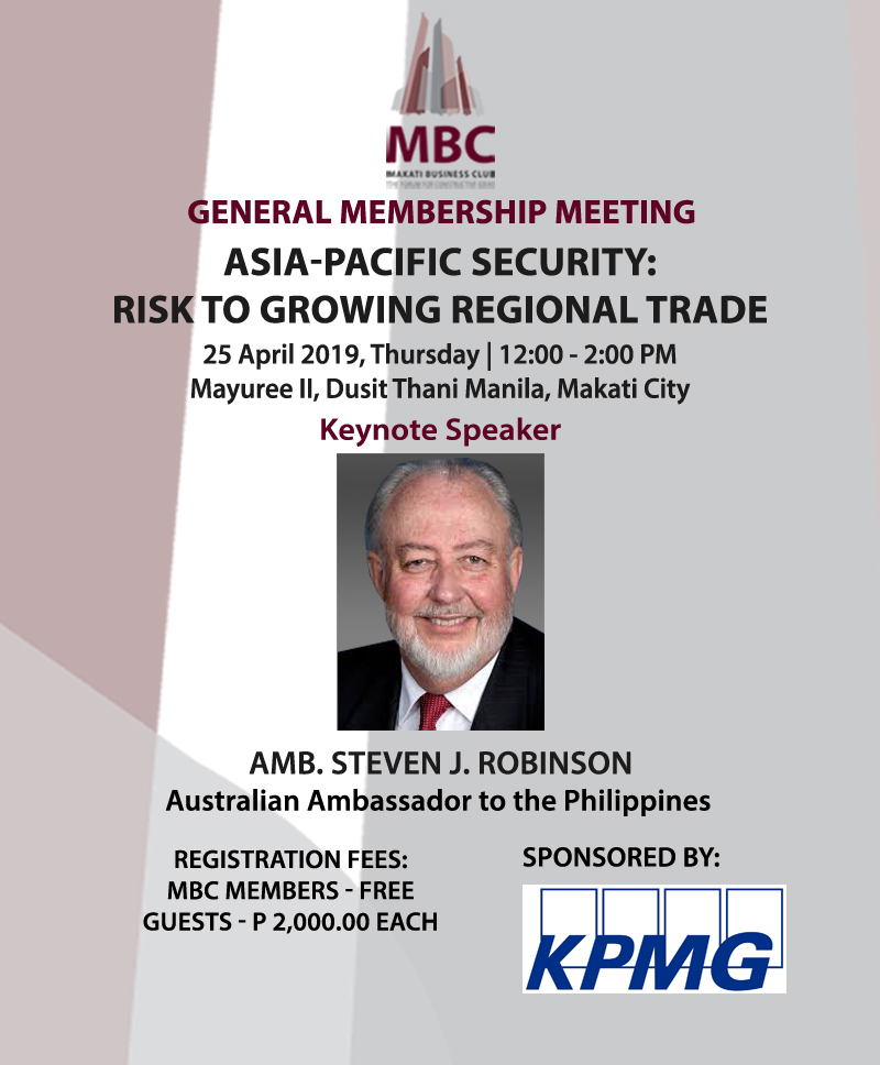 Asia-Pacific Security: Risk to Growing Regional Trade