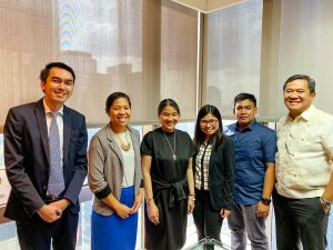 Rizza Palmares O'Connor with  Cesar C. Cruz & Partners Law Office
