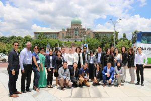The ASEAN CSR Fellows 2018 at Putrajaya, Malaysia. Photo: ASEAN CSR Network