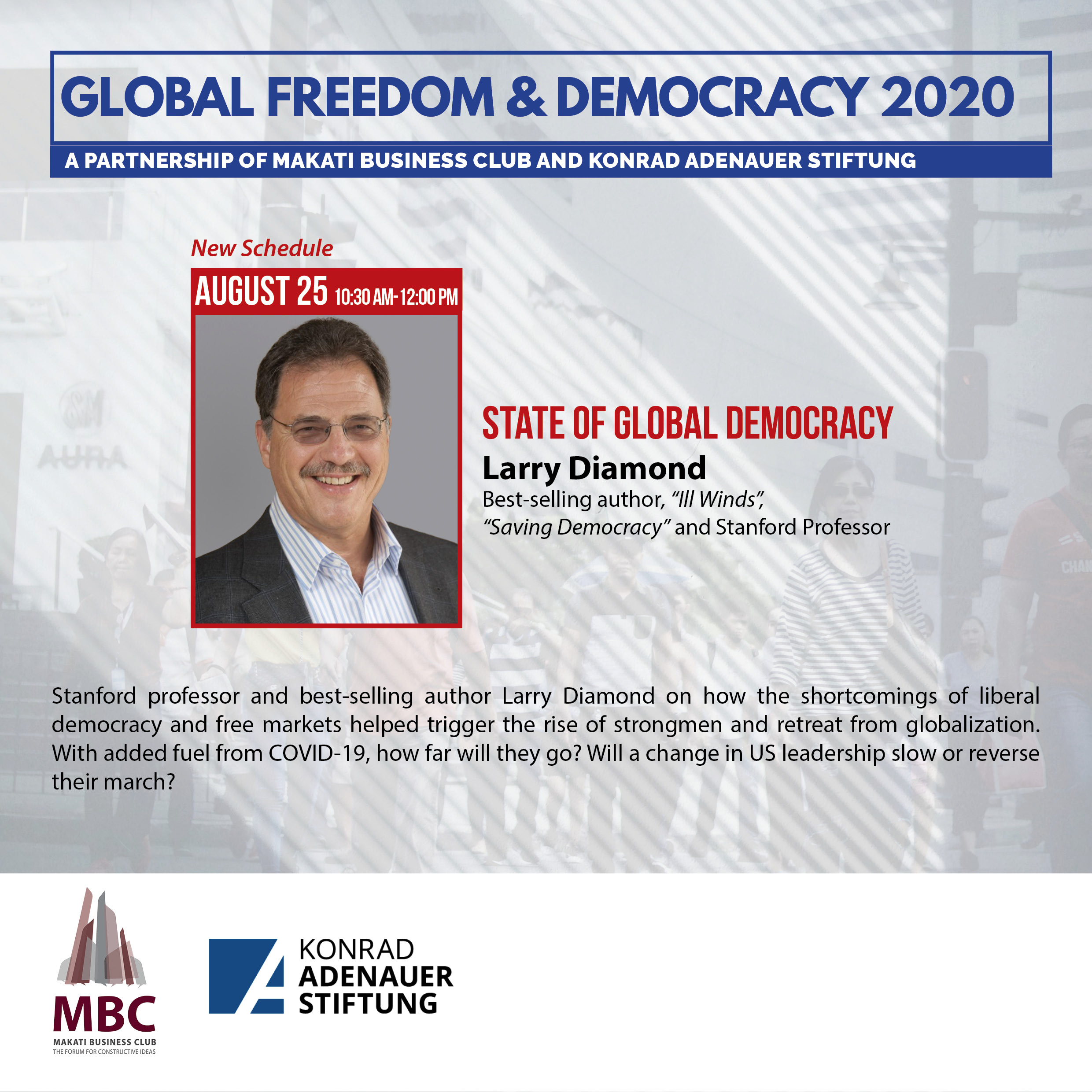 State of Global Democracy with Larry Diamond