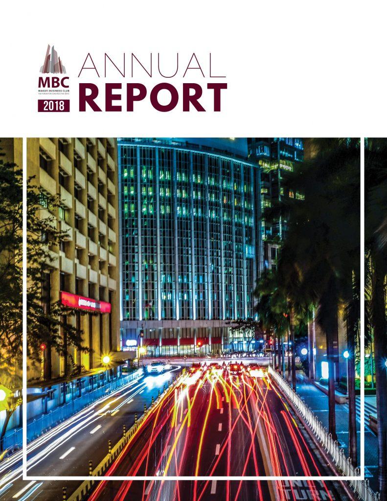MBC 2018 Annual Report Cover