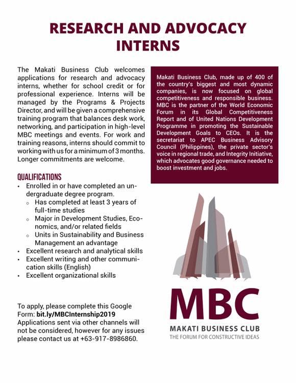 MBC Researcn Intern