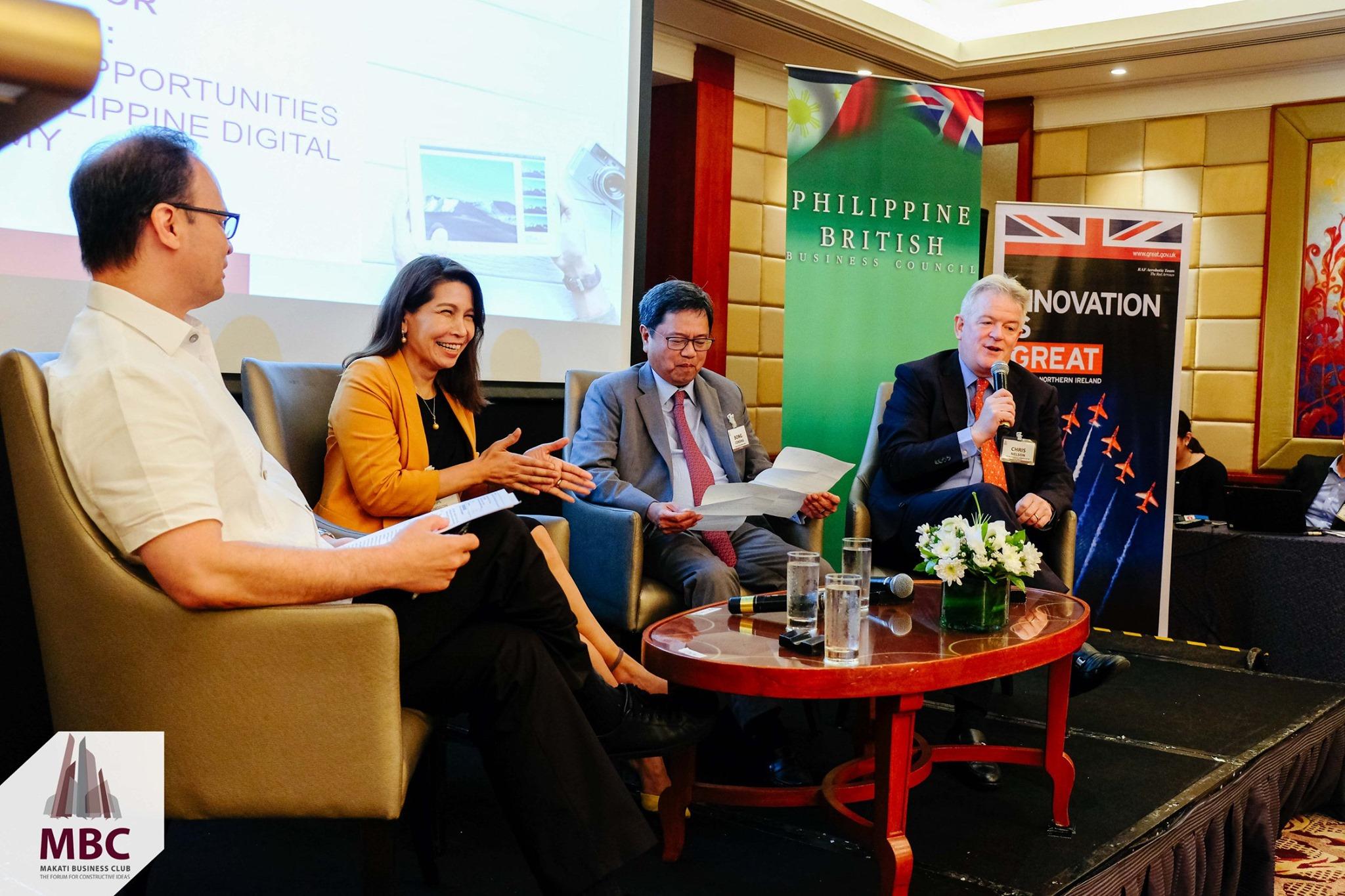 MBC hosts Digital Economy Roundtable with British Embassy Manila