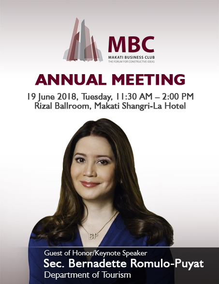 Makati Business Club Annual Meeting