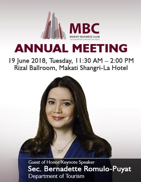 MBC Annual Meeting with Sec. Bernadette Romulo-Puyat