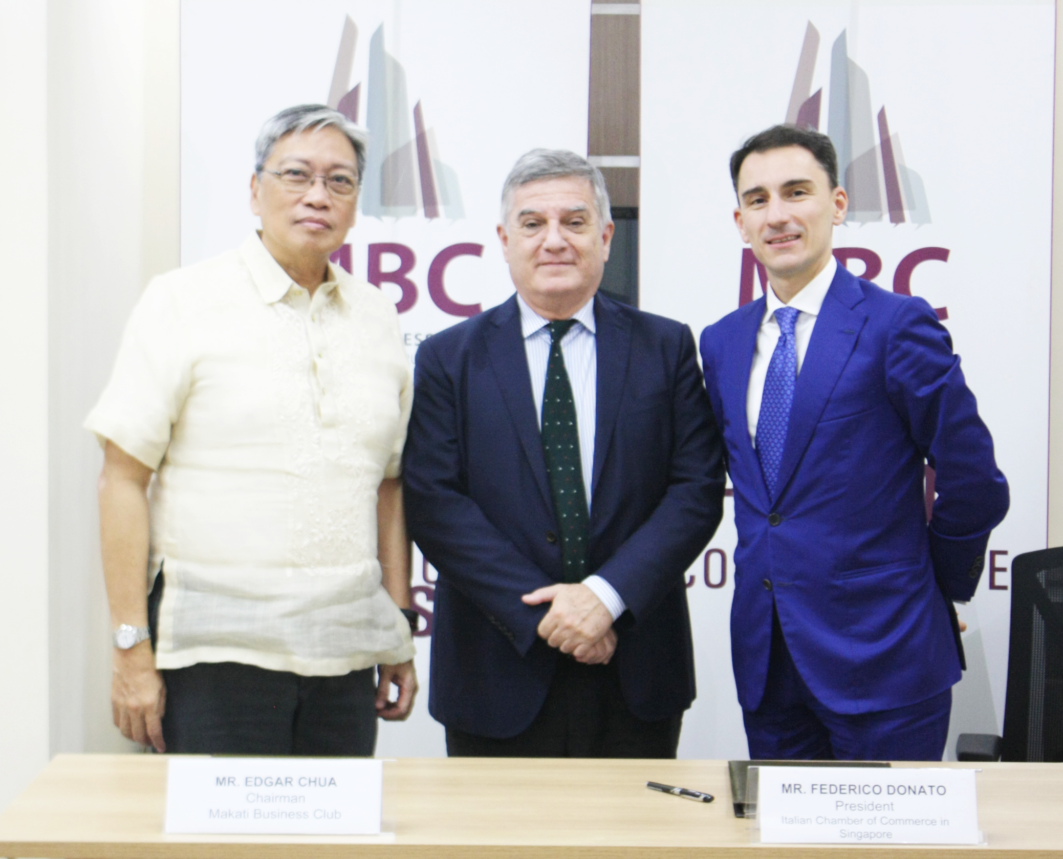 MBC and ICCS inks partnership to help boost bilateral ties between PH and Italy