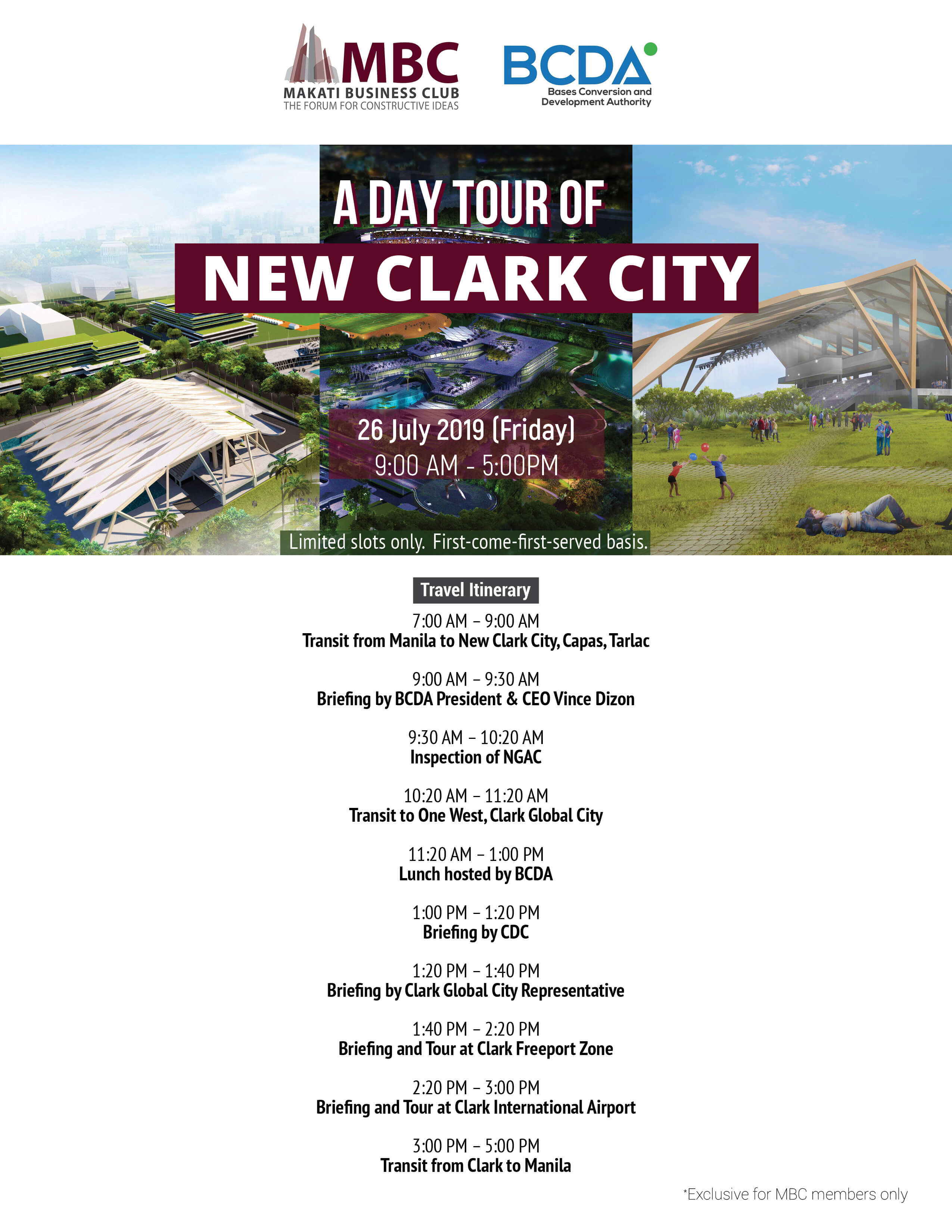 A Day Tour of New Clark City