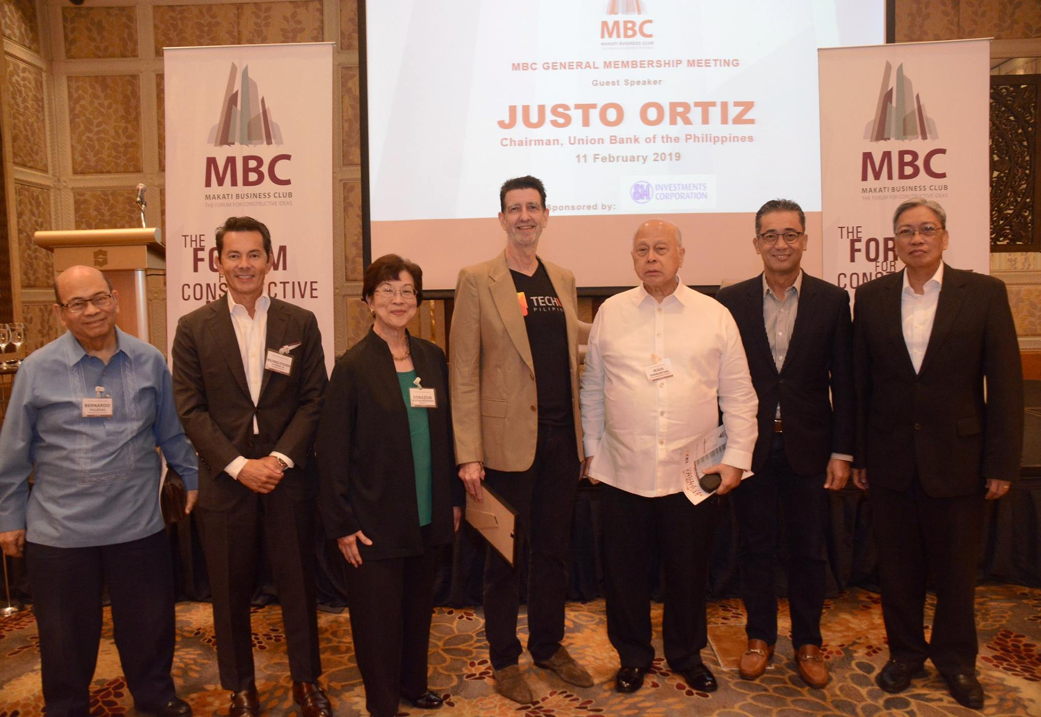 General Membership Meeting with Justo Ortiz on Transforming Philippine Business