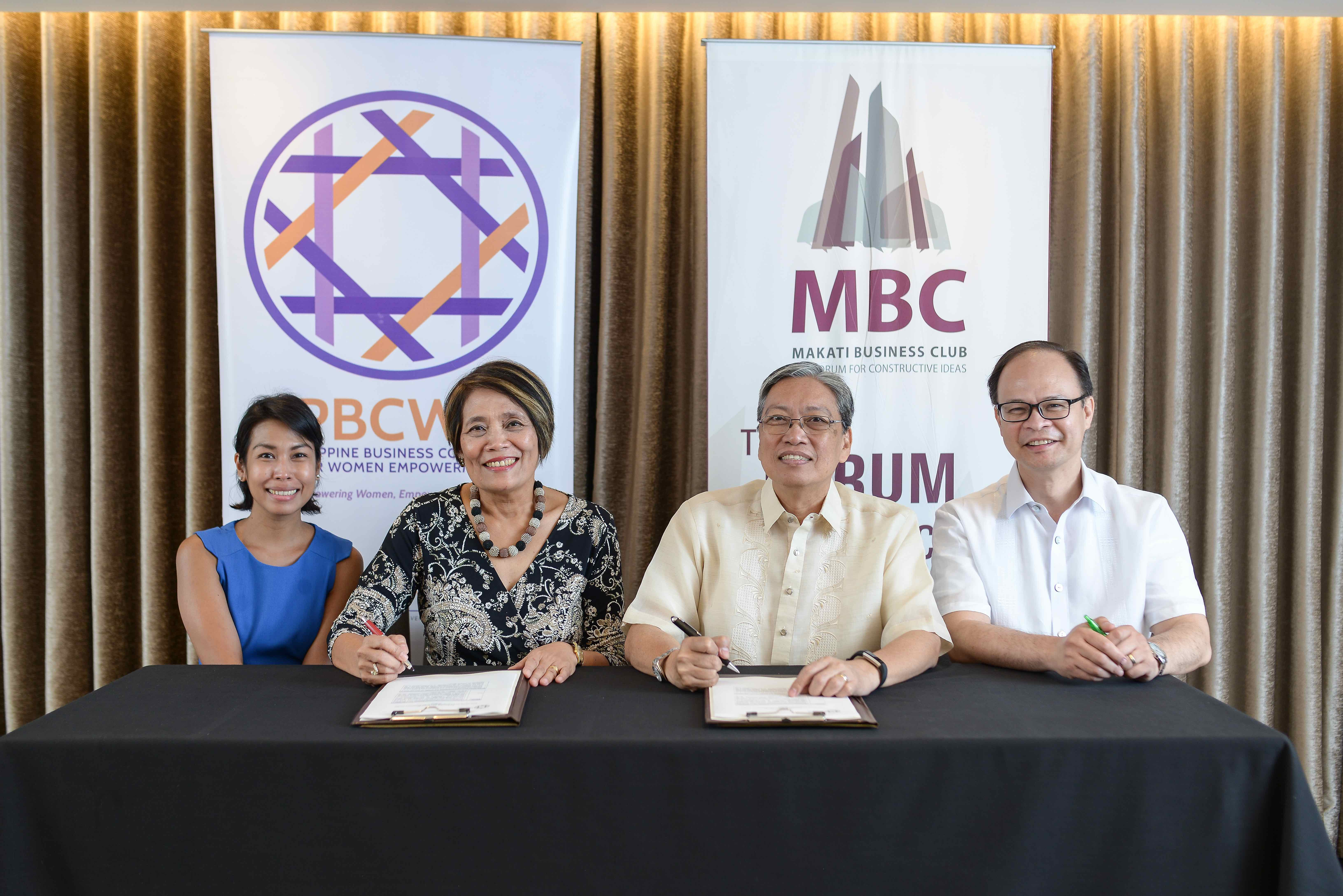 MBC and PBCWE Embarks on Joint Research On Gender Diversity in Top Management