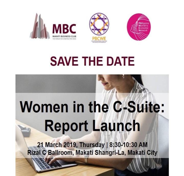 Women in the C-Suite: Report Launch
