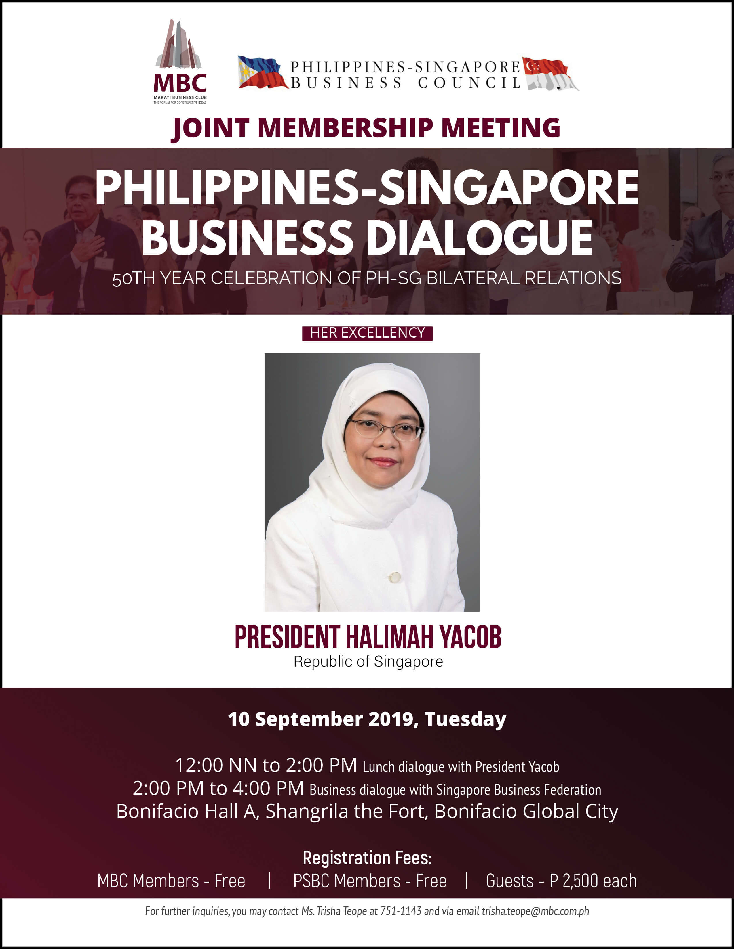 Philippines-Singapore Business Dialogue
