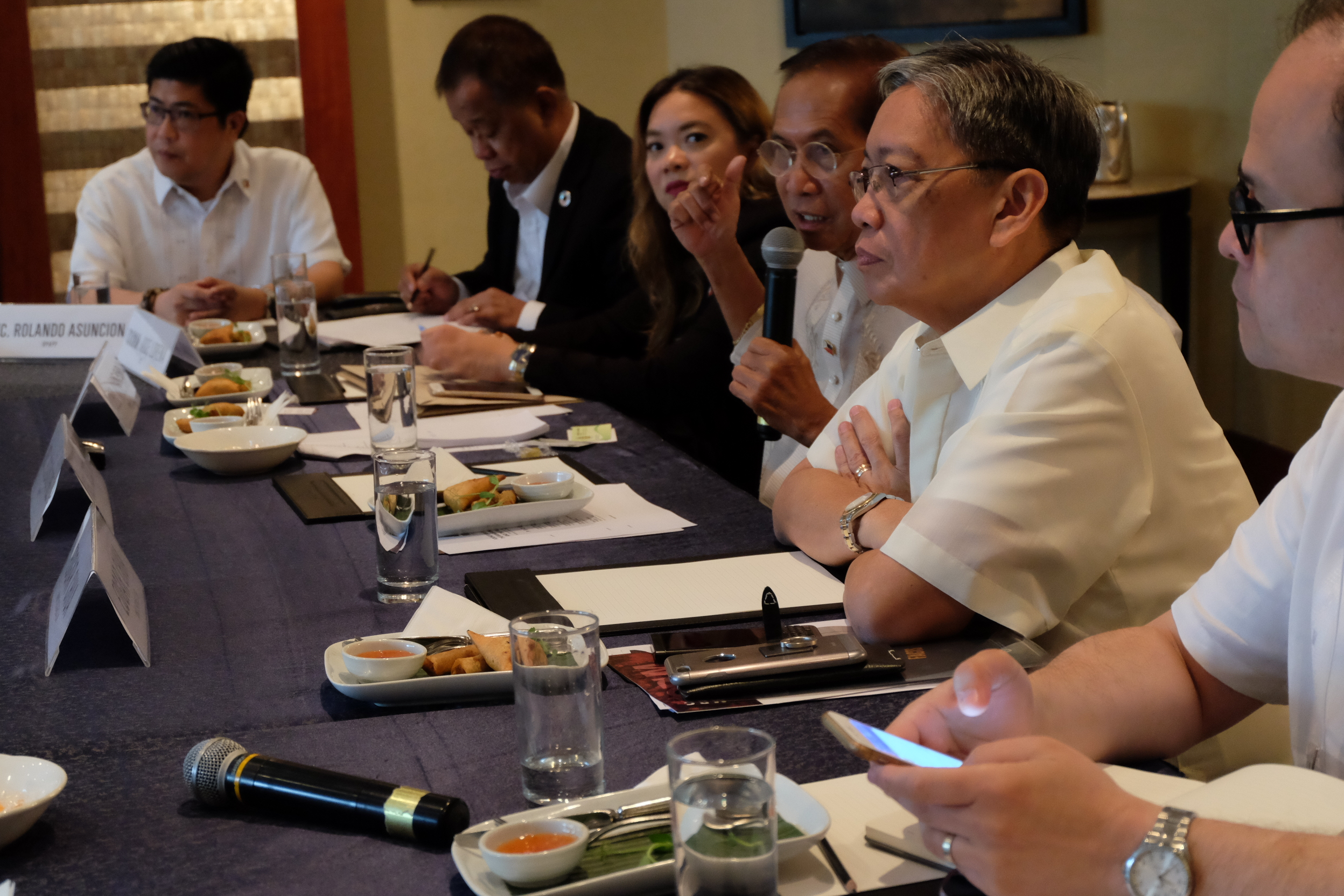 ROUNDTABLE DISCUSSION on the Bangsamoro Basic Law and the Peace Process