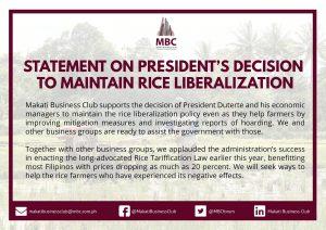 Rice Liberalization