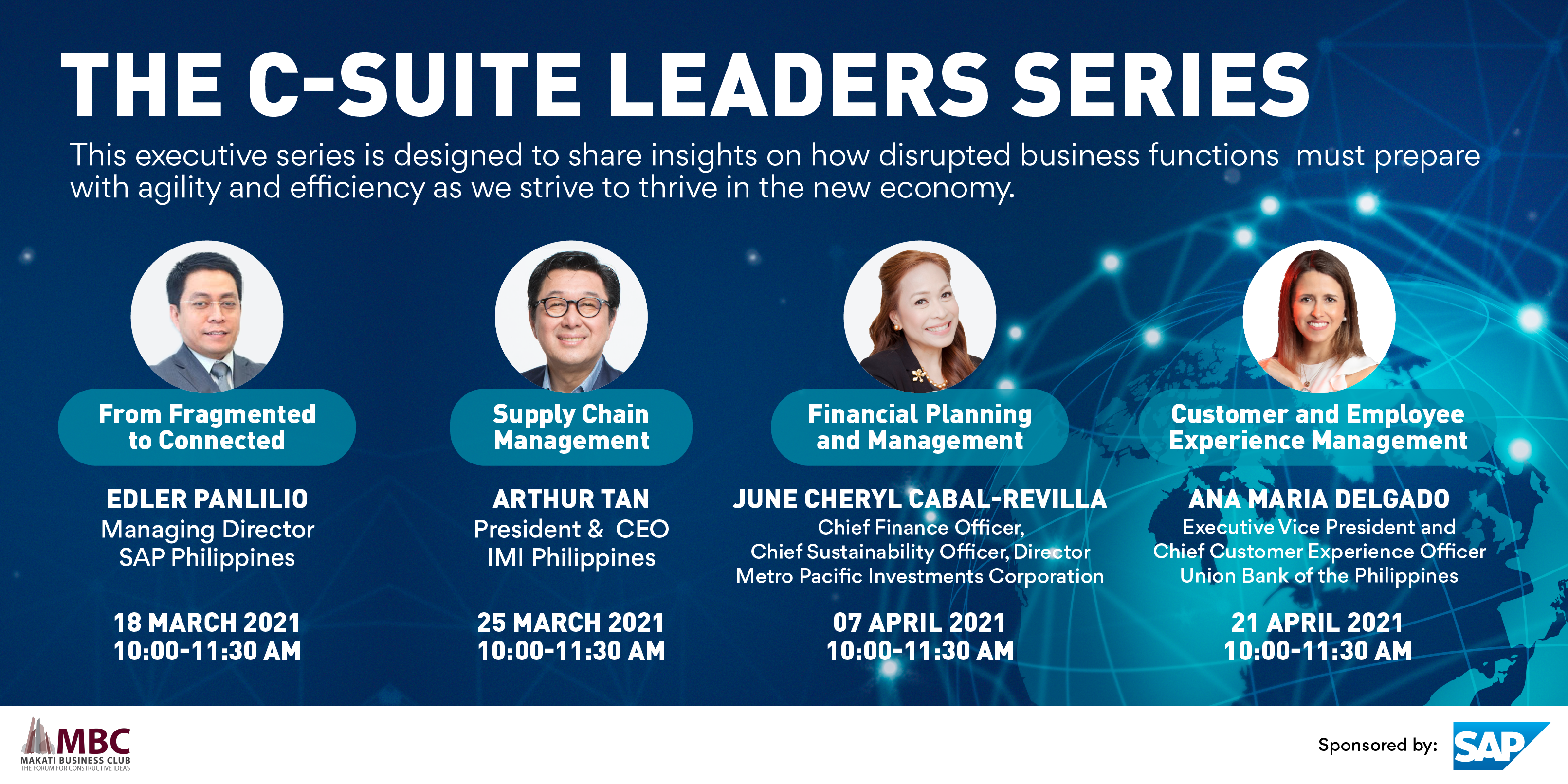 THE C-SUITE LEADERS SERIES