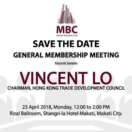 SAVE THE DATE – MBC General Membership Meeting
