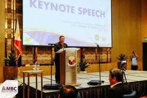 Sonny Dominguez speaks to Makati Business Club