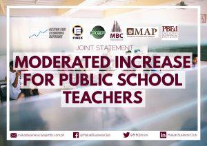 Statement on Teacher Salary